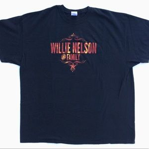 Willie Nelson graphic tee T-shirt plus size top